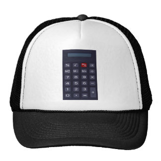 calculator mesh hats