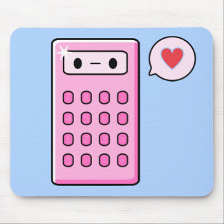 Calculator Love Mouse Pad