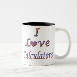 calculators coffee mugs