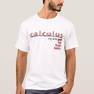 Calculus Anti-Drug T-Shirt
