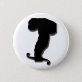 Calculus Ape 6 Cm Round Badge