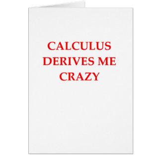 CALCULUS CARD