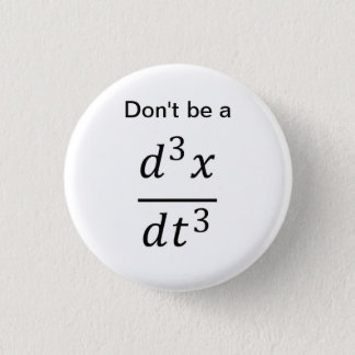 calculus/physics joke button