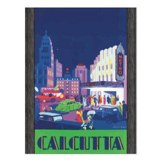 Calcutta, Vintage Post Card