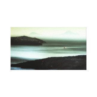 Caldera Sunset, Santorini Canvas Print