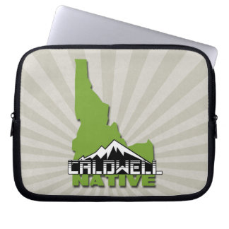 Caldwell Idaho Native Idahoan Hometown USA Laptop Sleeve