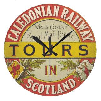 Caledonia Railway Scotland Clock