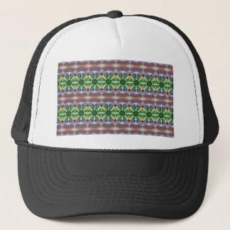 caledoscope four trucker hat
