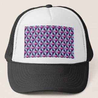 caledoscope three trucker hat