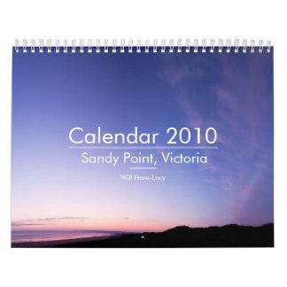 Calendar 2010 - Sandy Point