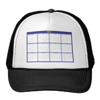 Calendar 2013 English Mesh Hat