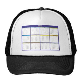 Calendar 2013 German Hats
