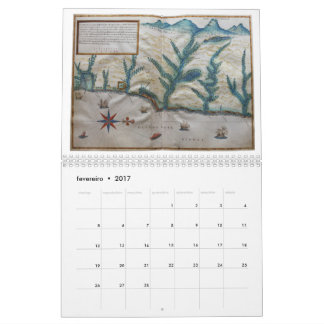 Calendar 2017: Captainship of the Espirito Santo