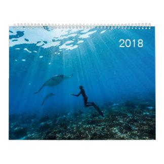 Calendar 2018 Underwater (36.19 X 27.94 cm)