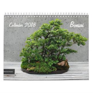 Calendar 2018 with Bonsai