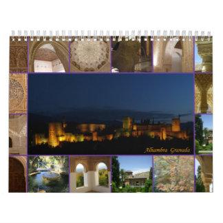 Calendar Alhambra - Generalife, Granada