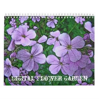 Calendar Digital Flower Garden