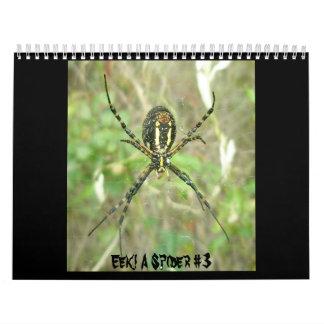 Calendar - Eek! A Spider #3