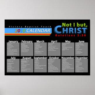calendar events poster