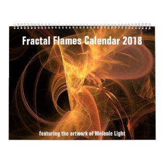 Calendar: Fractal Flames Calendar 2018