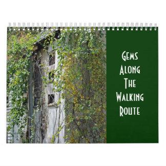 Calendar - Gems Along The Walking Route