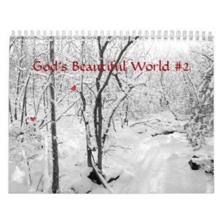 Calendar - God's Beautiful World #2