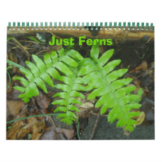 Calendar - Just Ferns