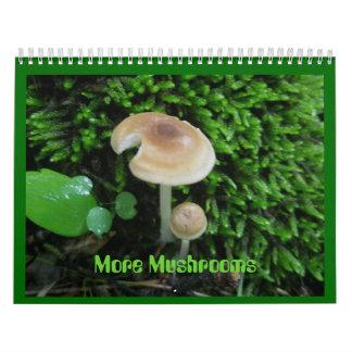 Calendar - More Mushrooms