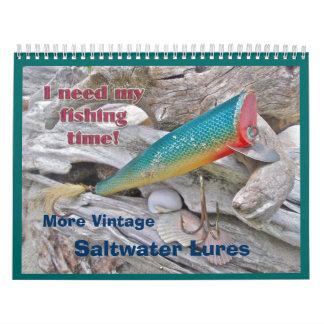 Calendar - More Vintage Saltwater Lures