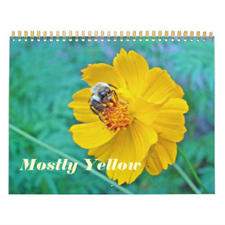Calendar - Mostly Yellow
