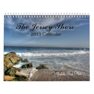 Calendar New Jersey Shore Beach Photography