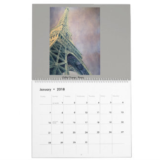 Calendar of watercolor paintings by Steven Givler