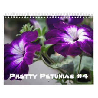Calendar - Pretty Petunias #4