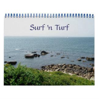 Calendar - Surf 'n Turf