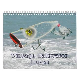 Calendar - Vintage Saltwater Fishing Lures #2