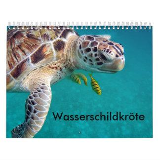 Calendar water turtles