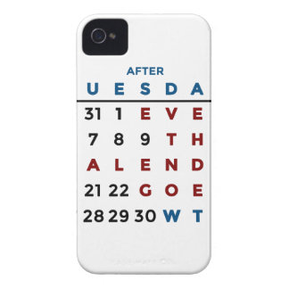 Calendar What The WTF iPhone 4 Case