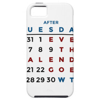 Calendar What The WTF iPhone 5 Cover