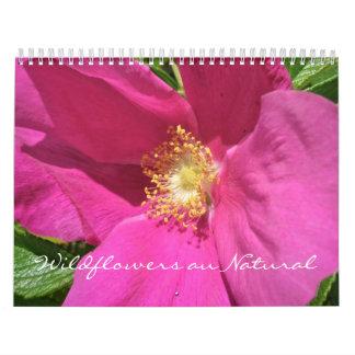 Calendar - Wildflowers au Natural