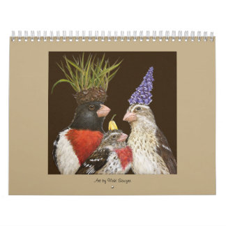 Calendar with Vicki Sawyer art