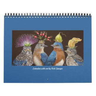 Calendar with Vicki Sawyer art #4