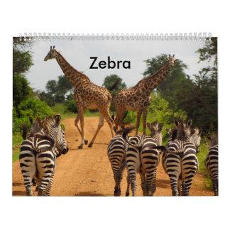 Calendar Zebra