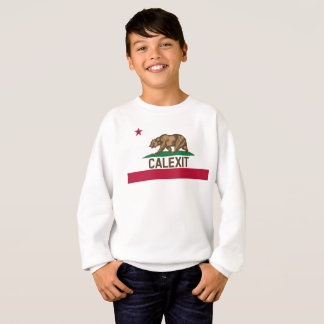 CALEXIT California Bear Flag Sweatshirt