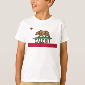 CALEXIT California Bear Flag T-Shirt