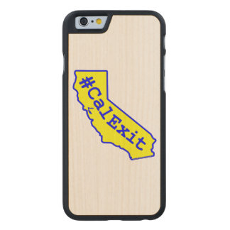 CalExit Carved® Maple iPhone 6 Case