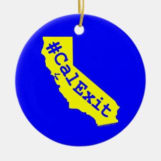 CalExit Ceramic Ornament