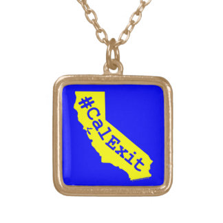 CalExit Gold Plated Necklace