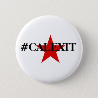 Calexit Lone Star Historical Lone Star Flag Button