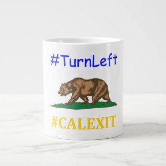 Calexit TurnLeft Large Coffee Mug
