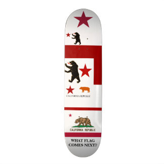 Calexit What Comes Next Historical State Flag Skat Custom Skateboard